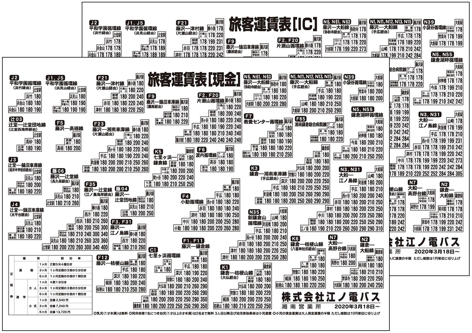 江ノ電 バス 時刻 表