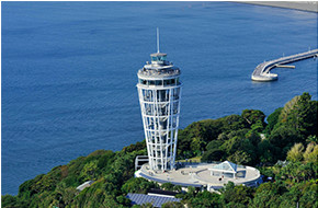 Enoshima Sea Candle (lighthouse observation tower)